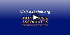 Montlick & Associates, Attorneys at Law, as founding sponsor features You're Not Alone television public service announcement from A4KClub, a national anti-bullying and child abuse organization. For more info visit montlick.com