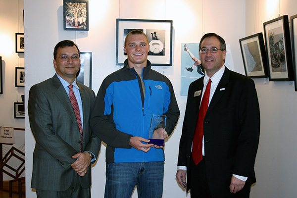 Montlick & Associates, Athelete of the Year 2012, Travis Marshall