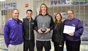 2016 Athlete of the Year, Trevor Lawrence