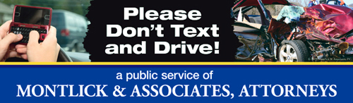 Please Don't Text and Drive Billboard