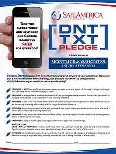 Download Our Safe Driver Pledge Form