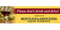 Don't Drink & Drive Campaign