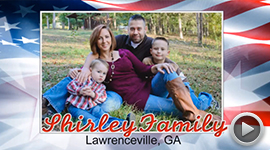 2013 Deserving Military Family Contest Winner