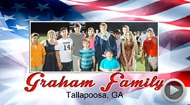 2014 Deserving Military Family Contest Winner
