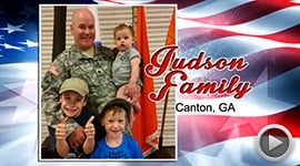 2015 Deserving Military Family Contest Winner