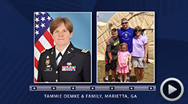 2016 Deserving Military Family Contest Winner