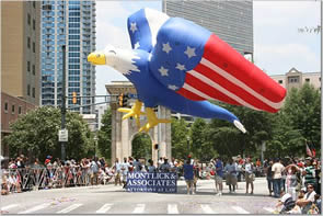 Photos from the WSB 47th Annual Salute to America Parade